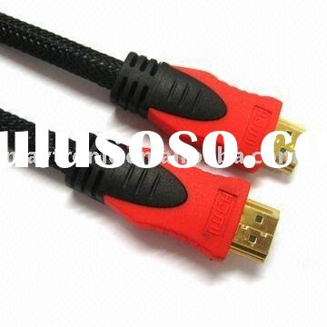 V 1.4 Gold HDMI Cable,Full 1080P