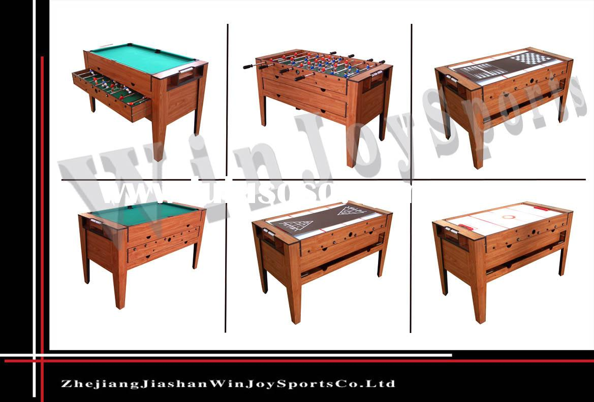 Multi Game Table on sportcraft basketball arcade game