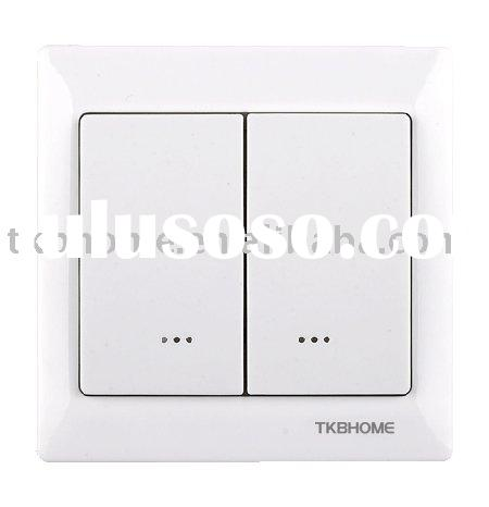 Z-Wave Wireless Dual Wall lighting Switch (3 wire)