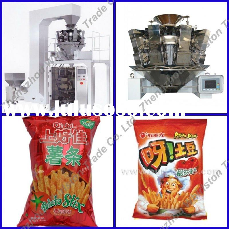 (023)HRSD560 fully automatic vertical chips packing machine
