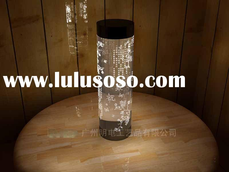 acrylic decorative light gift/tourist souvenirs/unique souvenir/led acrylic display