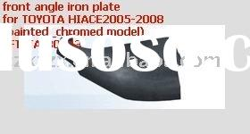 auto body kits, car body fits, front angle pad for TOYOTA HIACE2005, ZXTYTA-80125(painted & chro