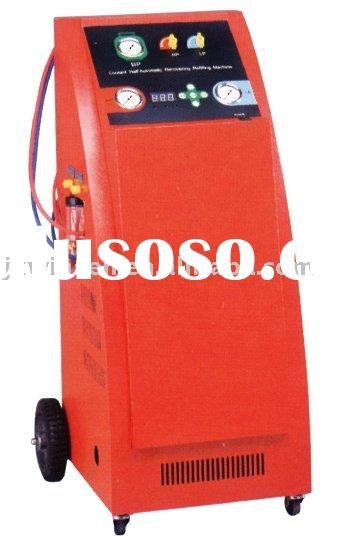 auto refrigerant recovery/recycling/recharging machine(full automatic)