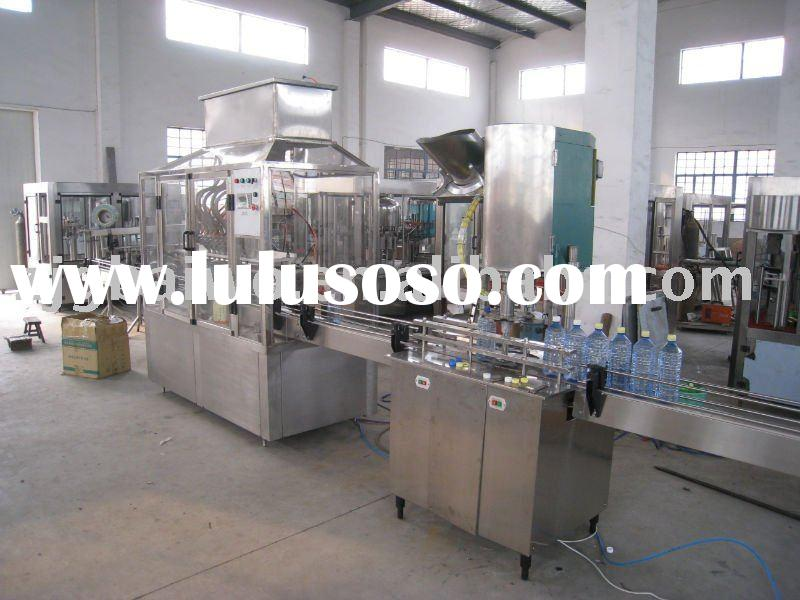 automatic PET bottle linear filling machine