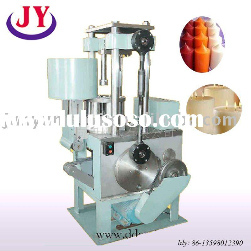 automatic candle making machine with cylinder shape