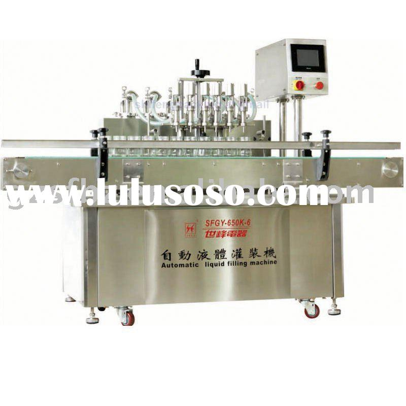 automatic shampoo/perfume filling packing machine