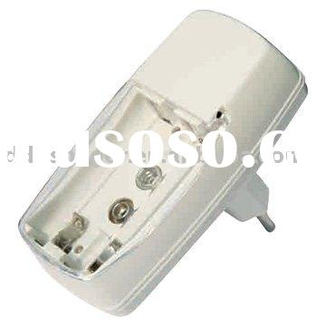 battery charger for AA/AAA/9V batteries