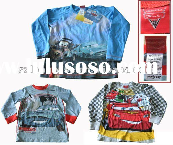 branded clothes -- AD108A boy's t-shirt stocks