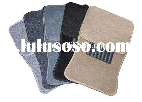 carpet&pvc car floor mat