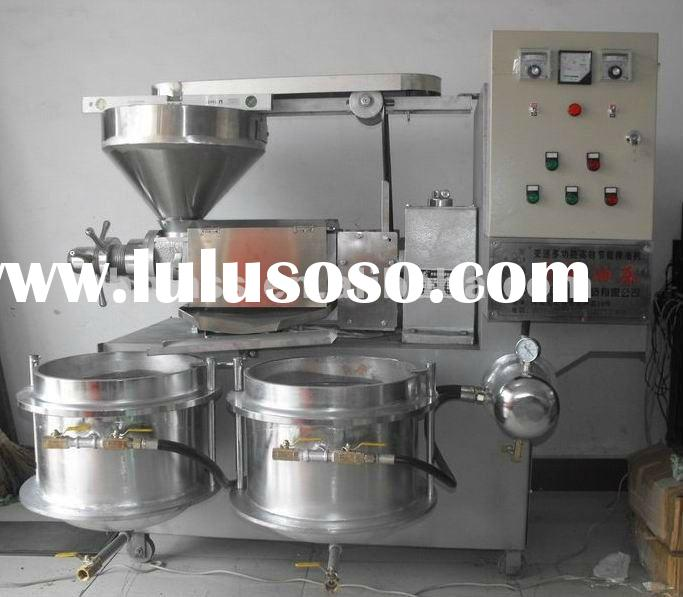 cold and hot automatic screw oil press machine 6YL 180 for peanut soybean sesame sunflower walnut et