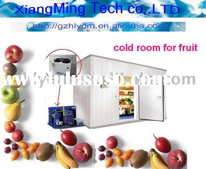 cold room for fruit and vegetable +10 to -5 C cold storage refrigerator freezer