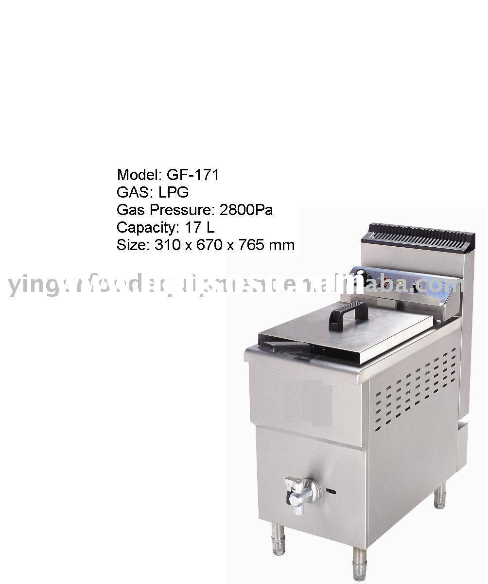 commercial auto Gas Fryer