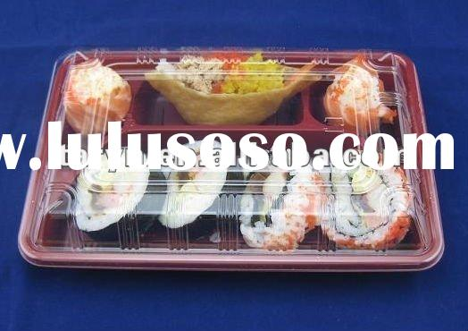 compartment plastic food container for microwave