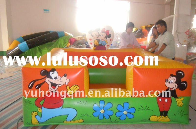 cute inflatable pool for Ocean Ball(Playball,Pit ball)