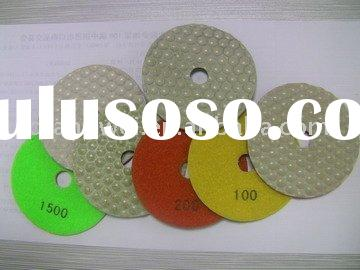 diamond dry polishing pad for patching