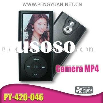 digital mp4 player (FM, Speaker, 1.3M Camera, mini SD C ard) PY-420-046 [CE,FCC,RoHS]digital mp4 pla