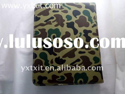 disruptive pattern leather protective cover case for ipad 2