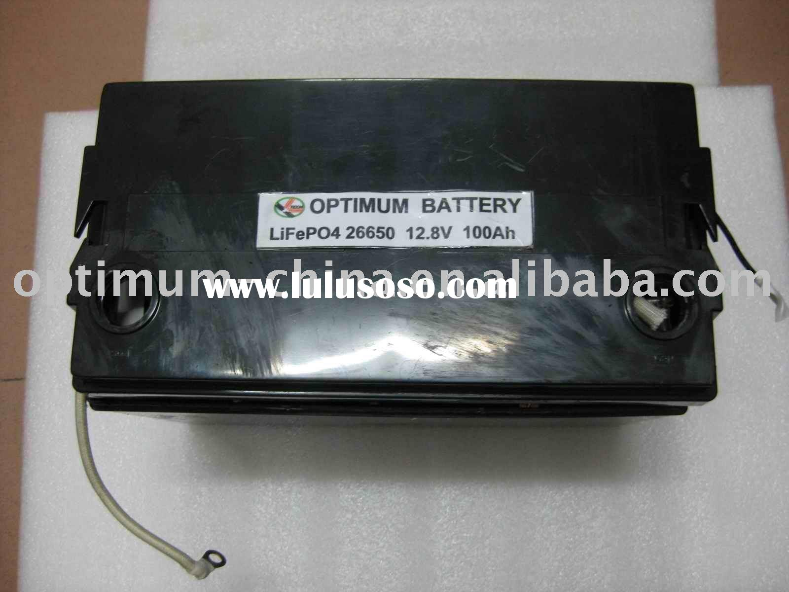 electric car 12v 100ah pack-lifepo4 battery