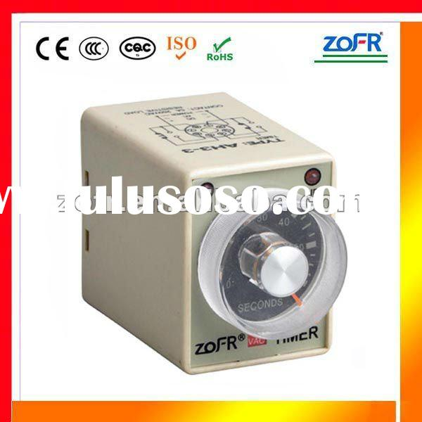 electric relay AH3-3 adjustable minutes time relay