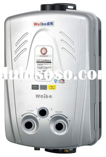 flue type/cold-rolled steel/tankless Gas water heater