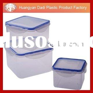 food container/lunch box/click lock food container