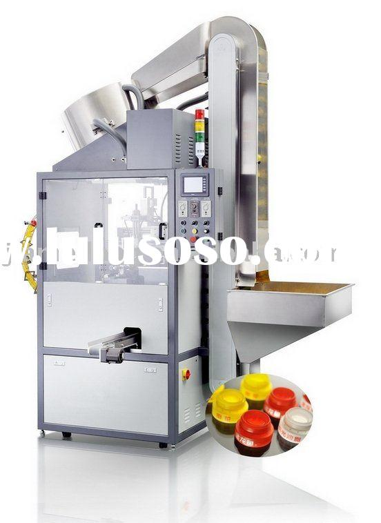 full automatic red wine bottle cap printing machinery