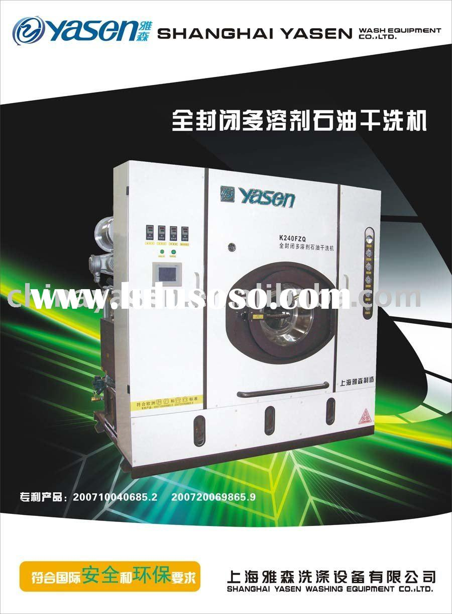 full-closed multiple-solvent Petroleum type of dry-cleaning machine