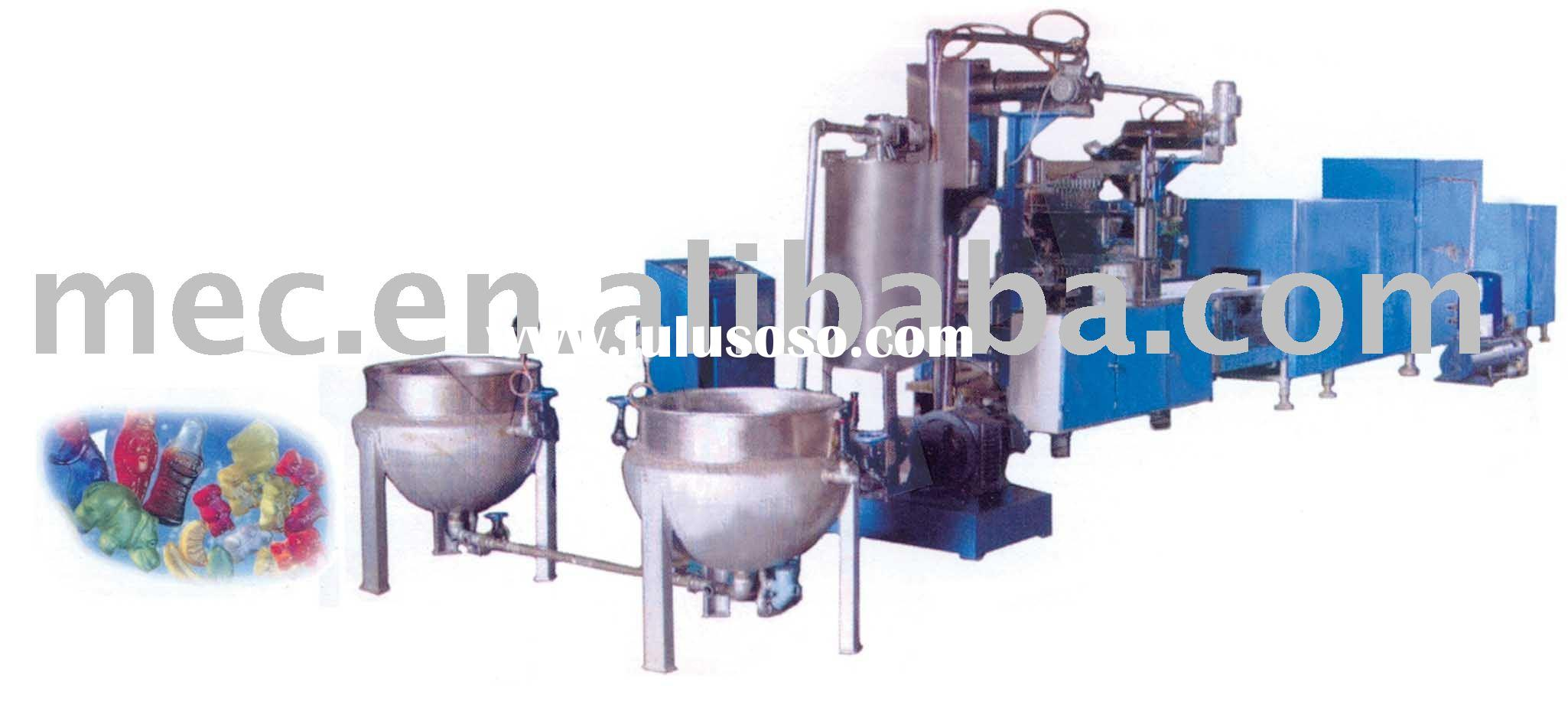fully automatic jelly candy machine / jelly candy production line / candy machine