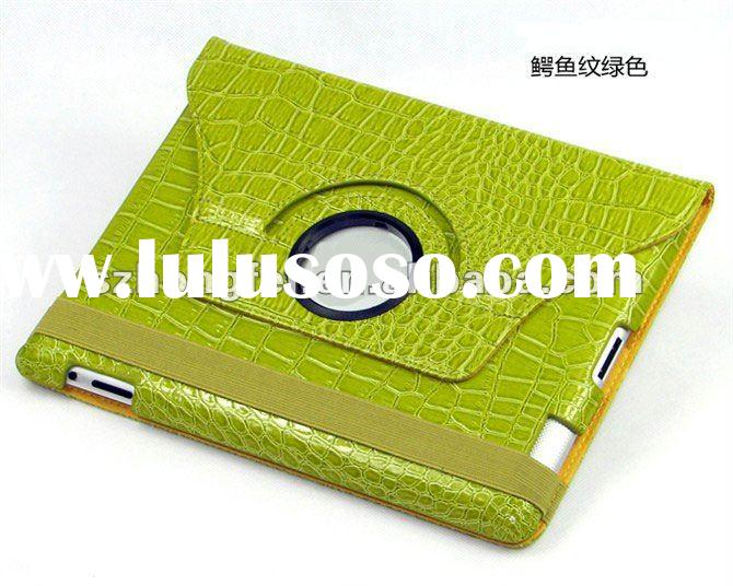 hot sale and high quality leather flip case for apple ipad 2