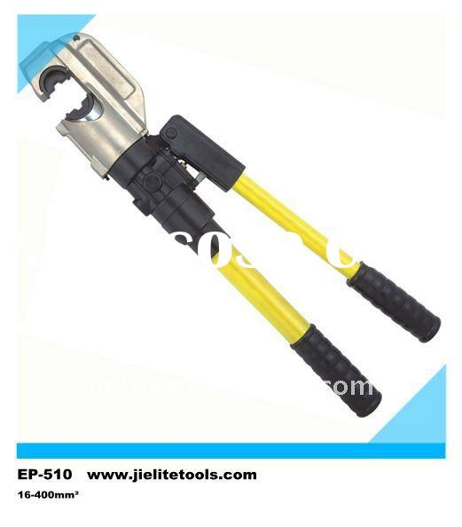 hydraulic cable terminal lug copper tube sleeve ferrules manual clamp hand press crimping tools