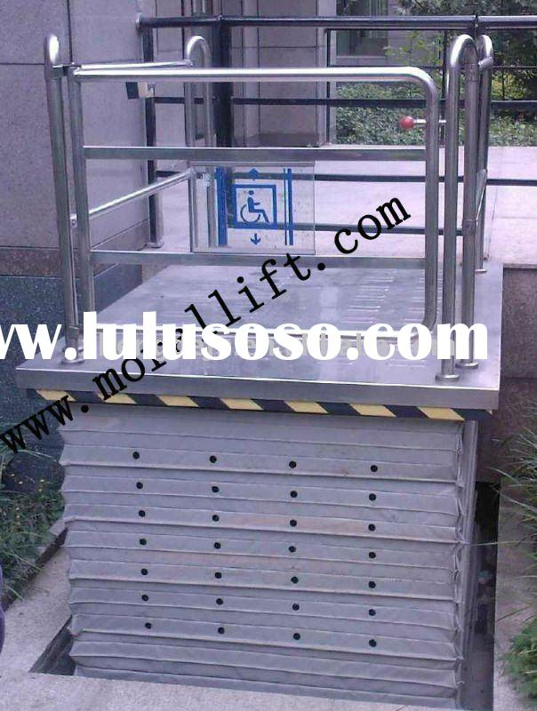 hydraulic electrical wheelchair lift for disabled