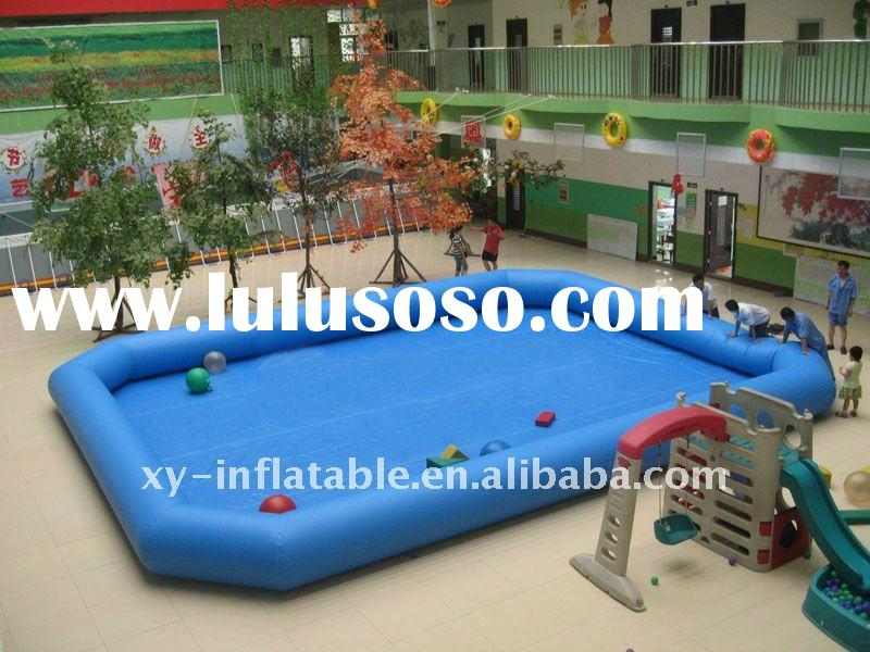 inflatable zorb water ball pool