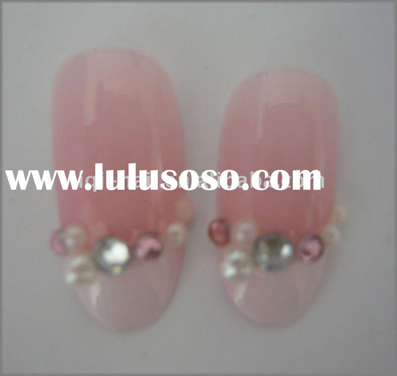 jewelry nail art french false nail tips pre design