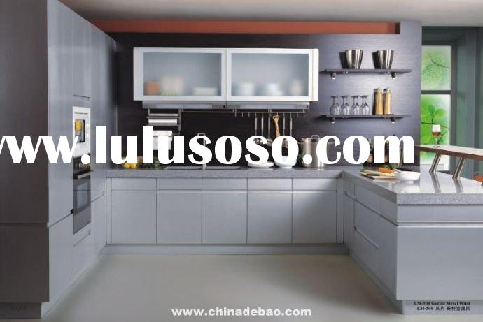 Metal Laminate Kitchen Cabinet LM500
