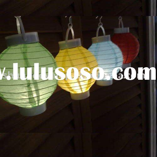 led battery operated paper lantern