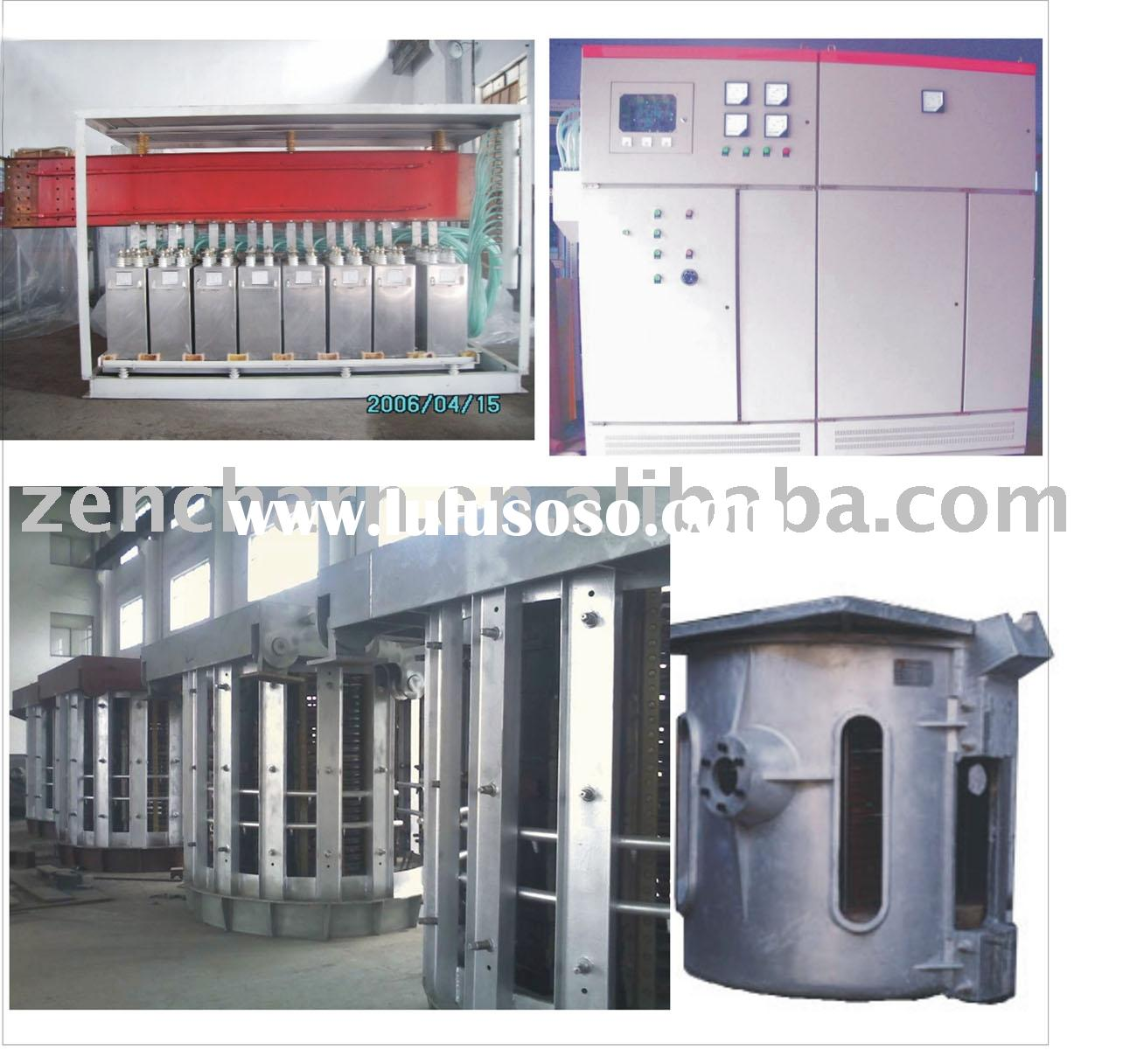 medium frequency coreless induction melting furnace