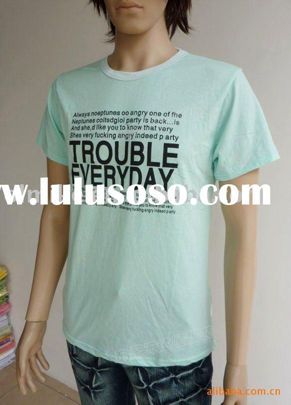 mens cotton t shirts tees printed MTT0014