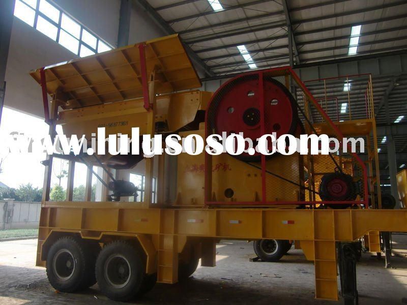 mineral processing plant/ mobile crusher plant/ rotary calcination kiln plant