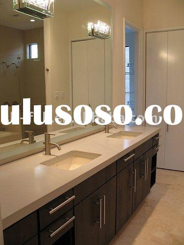 modern bathroom cabinets/ vanity cabinet--solid wood door
