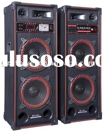 multimedia speaker, professional audio equipment, active loudspeaker