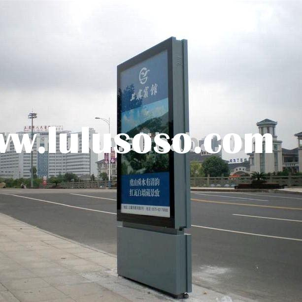 outdoor advertising light box