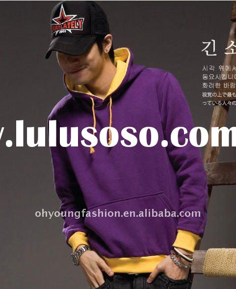promotional autumn 100 cotton men's fashion latest designer sweat suit