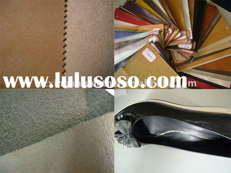 shoe lining leather pu synthetic leather