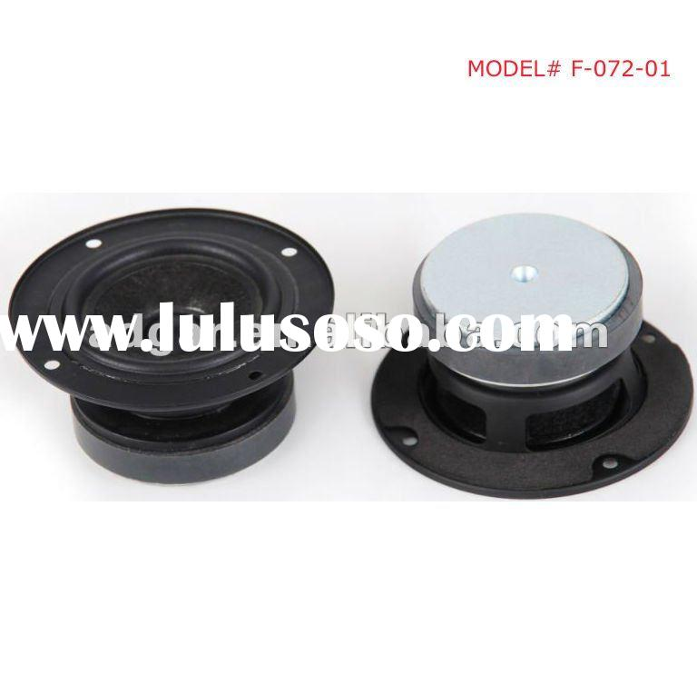 small full range speaker out diameter 72mm