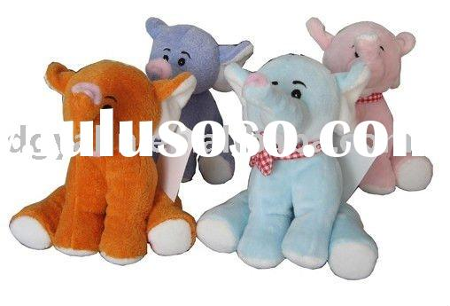 stuffed elephant soft toy,plush soft toy,customized design toy