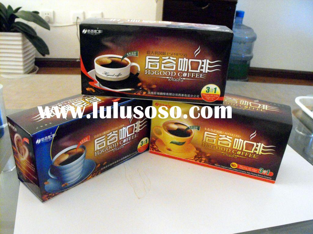 three in one instant coffee