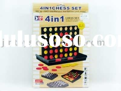 toy game Bingo 4 line-up,4in1 Magnetic Chess & Bingo Game,4 in 1 chess set