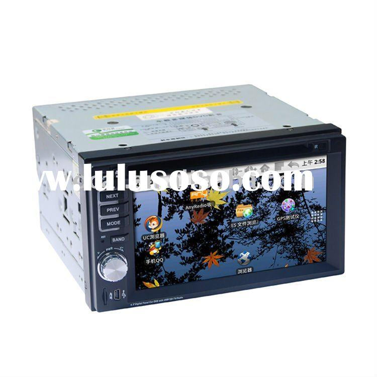 universal android car pc,in-dash 2 din car dvd android with bluetooth,rds,radio,gps,aux,tv