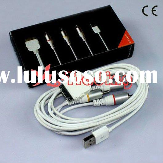 usb av tv rca video cable for iphone 3g