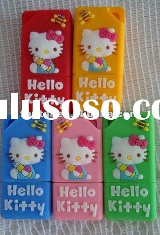 usb flash drive.silicone cartoon usb flash memory disk